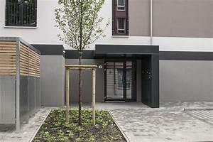 Eingangsüberdachung L Form : eingangsberdachung in lform verkleidet mit trespa t ~ Indierocktalk.com Haus und Dekorationen