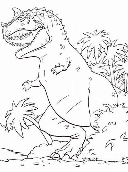 Coloring Dinosaur Pages Dinosaurs Fun Dino Kleurplaat