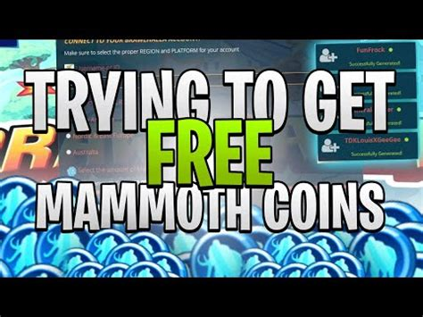 Watch the video explanation about how to get brawlhalla mammoth coins for free! 【How to】 Get free Mammoth Coins In Brawlhalla
