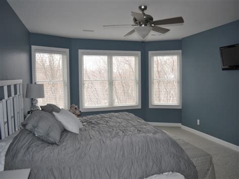 blue bedroom wall blue gray wall color blue gray bedroom