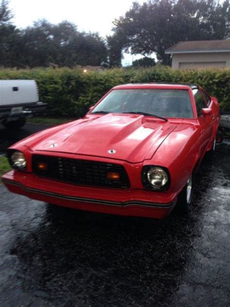 1978 Ford Mustang King Cobra For Sale by Ford Mustang Ii King Cobra 1978 For Sale Ford Mustang