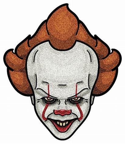 Pennywise Clown Dancing Clipart Drawing Cartoon Face
