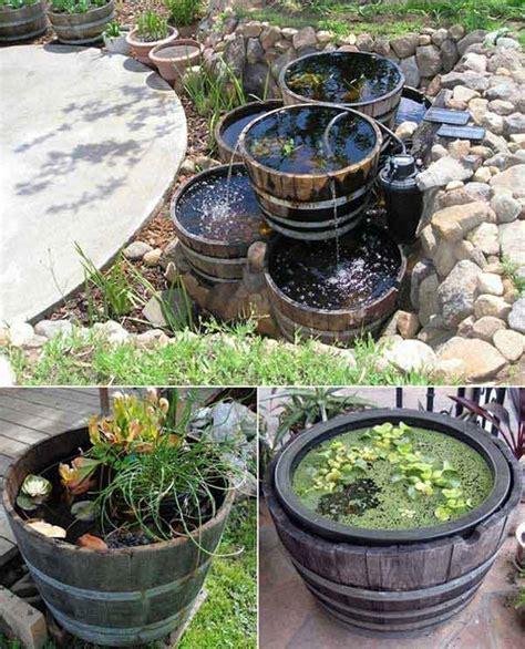 brilliant diy ways  reusing  wine barrels