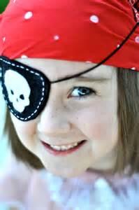 Felt Pirate Eye Patch Pattern