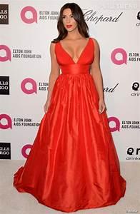 kim kardashian mise sur une robe celia kritharioti pour la With robe de kim kardashian