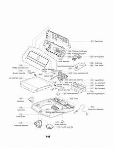 Lg Wt7700hva  00 Washer Parts