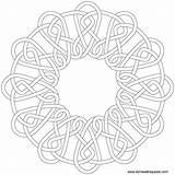 Coloring Celtic Knot Round Mandala Template Transparent Form Patterns Embroidery Ausmalbilder Border Simple Printable Pattern Lk Cream Knotwork Popular Symbols sketch template