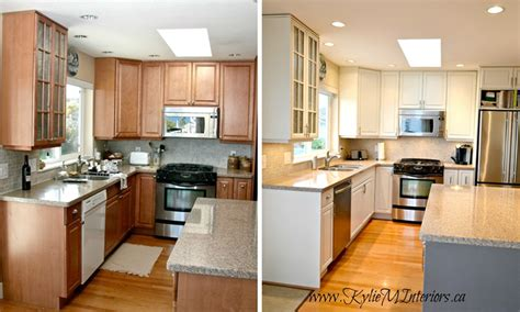 before and after pictures of kitchen cabinets painted 4 maneiras de renovar os arm 225 rios da cozinha casinha 9889