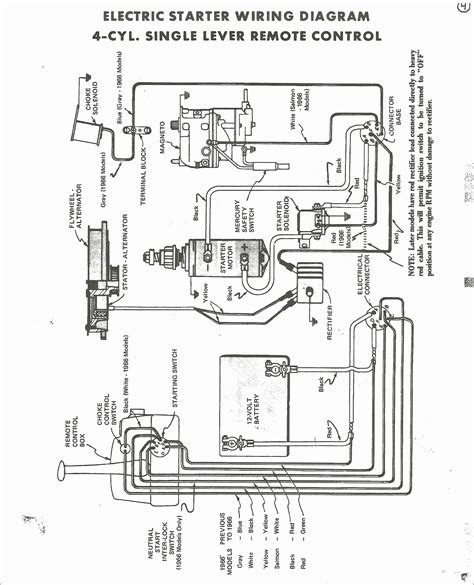 Mercury Thunderbolt Wiring Diagram by Mercury 500 Outboard Wiring Diagram Camizu Org