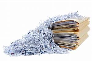 Secure office recycling pick up services royal oak recycling for Document shredding pick up