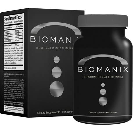 biomanix 60 capsules dubai supplements