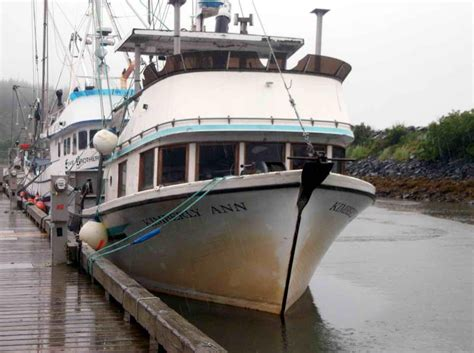 Commercial Boats by 1977 Longliner Commercial Salmon Fishing Power Boat For