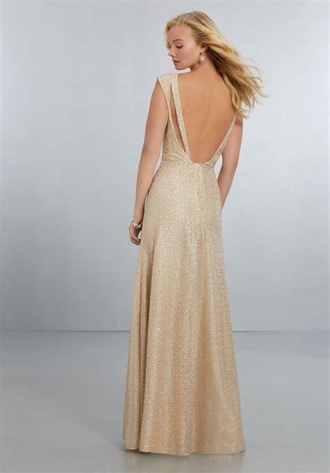mori lee style no 21575 chiffon bridesmaid dress