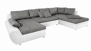 U Form Sofa : sofa wohnlandschaft u form ~ Buech-reservation.com Haus und Dekorationen