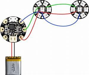 Gemma M0 Neopixel Ring Wiring Diagram
