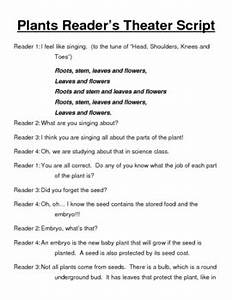 Plants Reader's Theater Script by Brooke Beverly | TpT