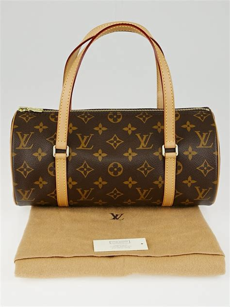 louis vuitton monogram canvas papillon  bag yoogis closet