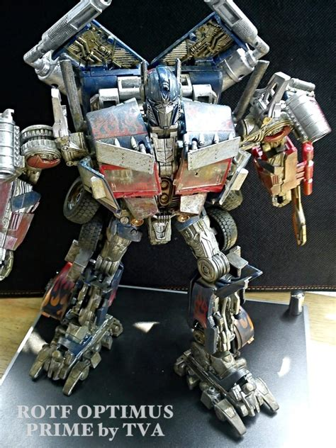 optimus prime rotf revisited paint job  paul velando