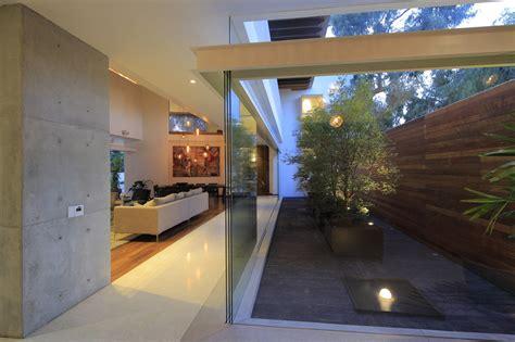 modern home plan modern house plans with interior courtyard garden trends