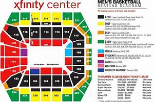 Seating Charts University Of Maryland Athletics In