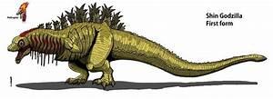 Shin Godzilla: First form by Hellraptor on DeviantArt | A ...