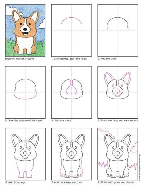 draw  corgi dog apfk tutorials dog art drawings