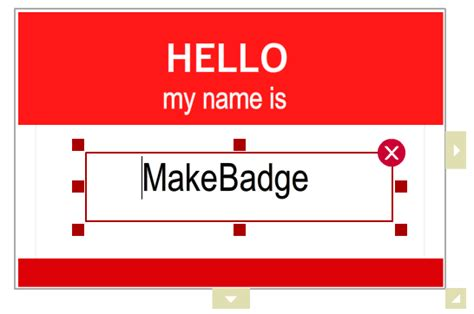 Name Template Maker by Badge Maker With 50 Free Templates Design All