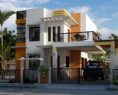 contoh desain rumah minimalis  renovabel  futuristik