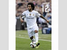 La Postal Real Madrid 20152016 Marcelo Accion de maxima