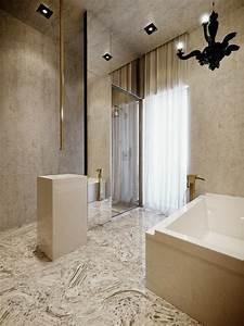 decoration interieure appartement par studioo With salle de bain design avec travaux décoration intérieure