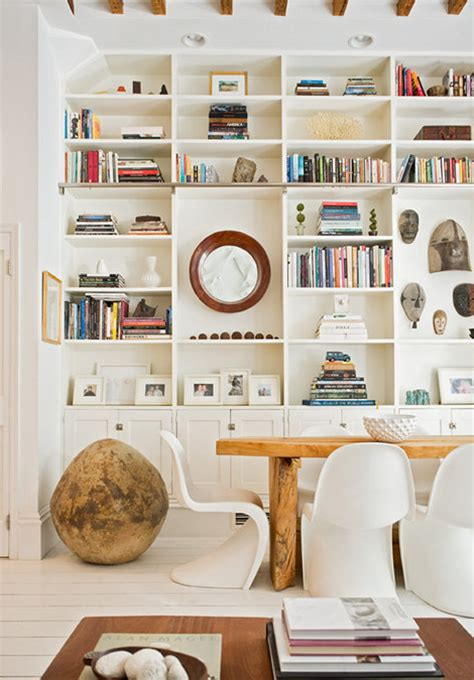 Bookcase In Dining Room by Tips For Styling A Bookcase Like An Interior Designer
