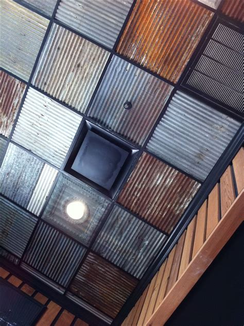 ceiling tile ideas corrugated drop ceiling marketing space