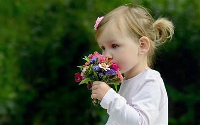 Wallpapers Child Desktop Hudima Katia Background Flowers