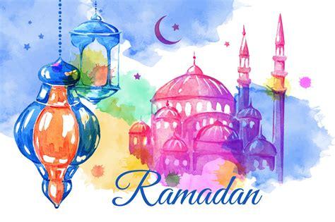 ramadan banners  cards illustrations creative market
