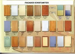 Facade Meuble De Cuisine : cuisines meuble ~ Edinachiropracticcenter.com Idées de Décoration