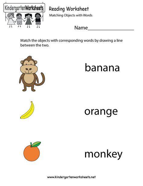8 Best Images Of Free Preschool Reading Printables  Kindergarten Reading Worksheets, Free
