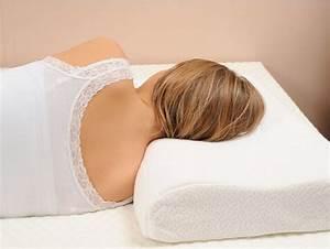 Quel Oreiller Choisir : bien dormir avec un coussin cervical ~ Farleysfitness.com Idées de Décoration