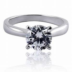 cubic zirconia engagement rings gemstone buzz With wedding rings cubic zirconia