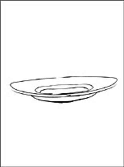 disegno  piatto da stampare disegni da colorare gratis