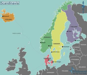 Which For The Nordic Countries Scandinavia Wikitravel