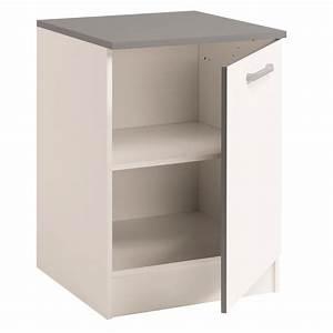Meuble Bas Cuisine Conforama : meuble bas cuisine blanc conforama argileo meuble bas cuisine conforama ~ Teatrodelosmanantiales.com Idées de Décoration