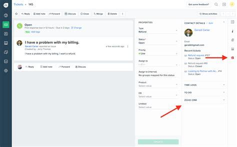 zoho desk vs freshdesk integration with zoho crm freshdesk