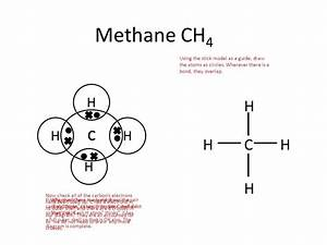Electron Dot Diagram For Methane