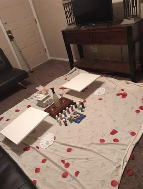 Always a blast & if u go with a specific list of items to find for your home, u really can save a fortune & spend an entire saturday today together with your man At home date night | Cute date ideas, Romantic date night ...
