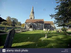 St Mark's church in Englefield, Berkshire, which is ...