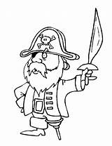 Coloring Pirates sketch template