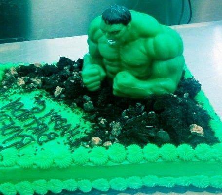 hulk birthday cakes ideas  pinterest hulk