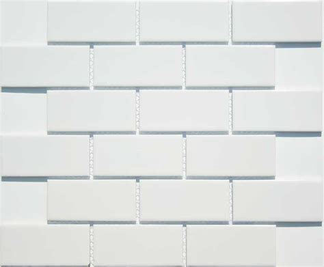 2x4 white ceramic subway tile home ideas