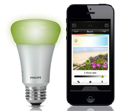 philips hue lets you bulb brightness and colour
