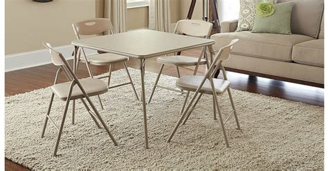 Kmart Cing Table And Chairs by Kmart 5 Folding Table Chairs Set 50 58 Shipped